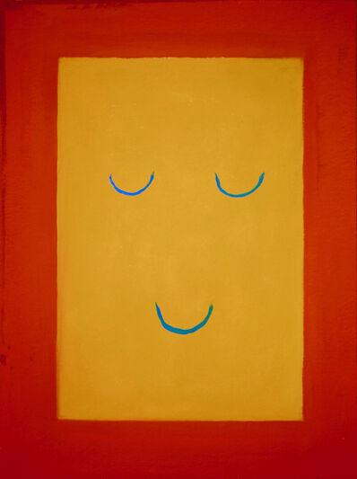 Leonhard Hurzlmeier, 'Smile Set/Orange', 2018