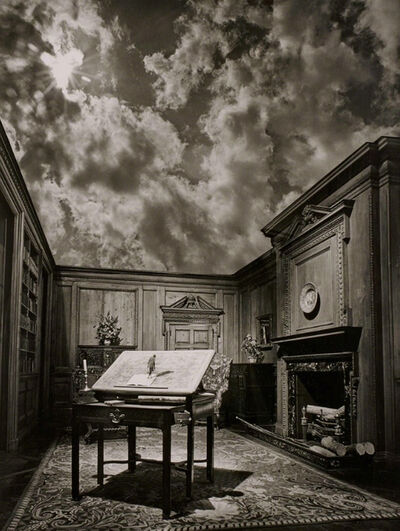 Jerry Uelsmann, 'untitled, Philosopher's Desk', 1976