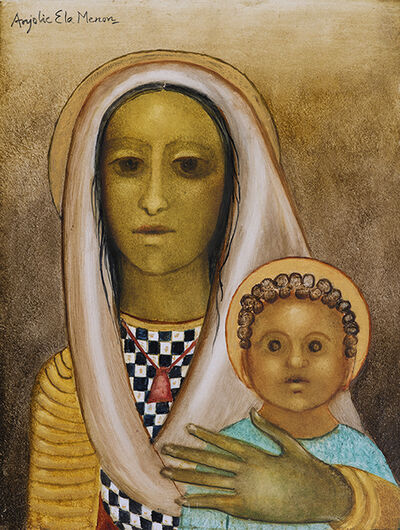 Anjolie Ela Menon, 'Madonna and Child', 2020