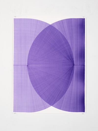 Thomas Trum, 'Two Purple Lines', 2020