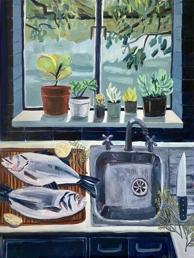 Kate Nielsen, 'Preparing the Fish', 2021