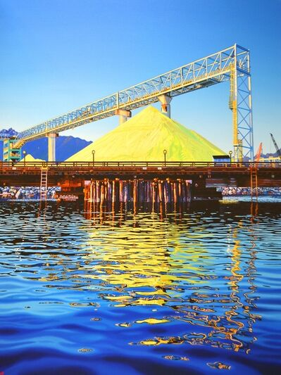 Valerie Raynard, 'Vancouver Wharves terminal II', 2020