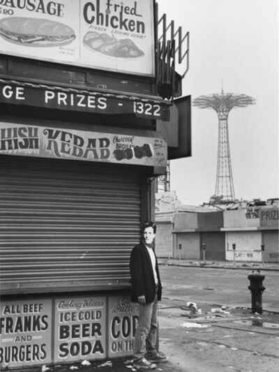 David Wojnarowicz, 'Arthur Rimbaud in New York (kebab, Coney Island)', 1978-79
