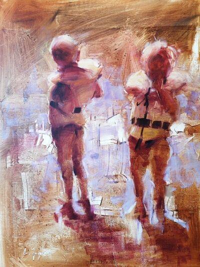 Arne Spangereid, 'To med redningsvest', 2021