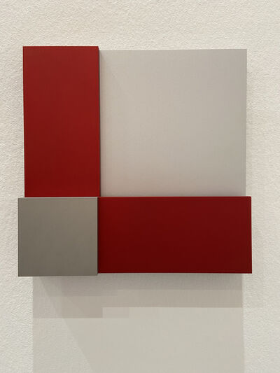 Stephan Siebers, 'two rectangles form two squares', 2020