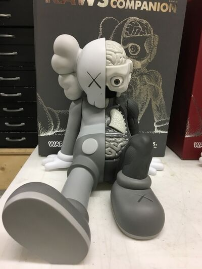 KAWS, 'Resting Place (grey)', 2013