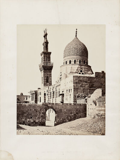 Francis Frith, 'The Mosque of the Emeer Akhoor, Cairo', 1858