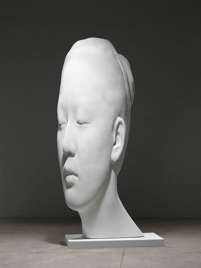 Jaume Plensa, 'Laura Asia in White', 2017