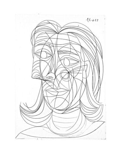 Pablo Picasso, 'Tête de Femme', 1939