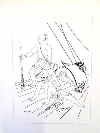 "Léonard Tsugouharu Foujita, 'Original Lithograph ""Soldier"" by Léonard Foujita', 1928"