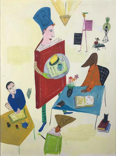Maira Kalman, 'Barnes & Noble - Book Man', 1995