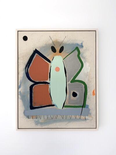 Mason Saltarrelli, 'Blue September Moth', 2019