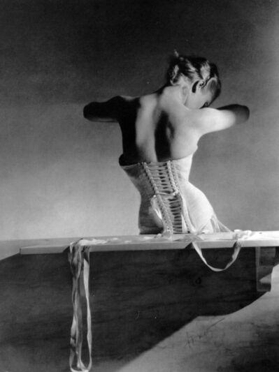 Horst P. Horst, 'Mainbocher Corset, Paris, ed. 31/50', 1939