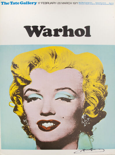 Andy Warhol, 'Tate Gallery Exhibition Poster', 1971