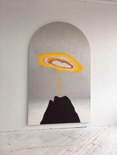 William Monk, 'Atomic Flower Power (Alterpiece)', 2018