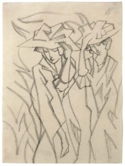 August Macke, 'Frauen mit Hüten', 1913