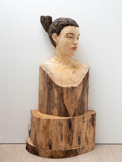 Stephan Balkenhol, 'Woman Hermes', 2019