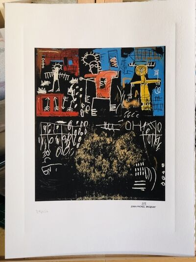 Jean-Michel Basquiat, 'Black Tar and Feathers', Unknown