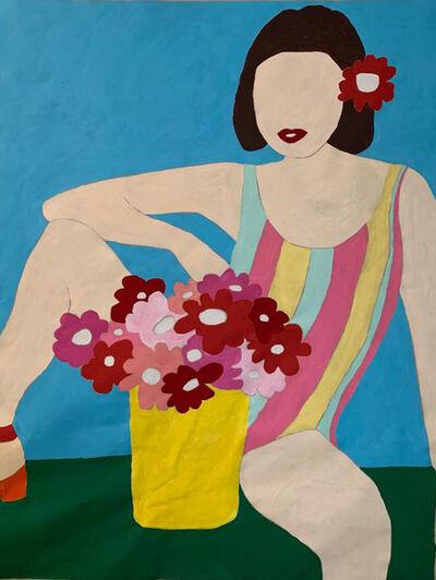 Angelina Guez, 'Viva las flores, Lola', 2019