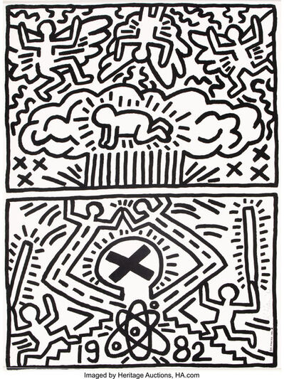 Keith Haring, 'Poster for Nuclear Disarmament', 1982