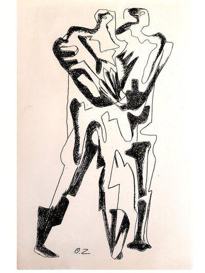 "Ossip Zadkine, 'Original Etching ""The Last Step"" by Ossip Zadkine', 1966"