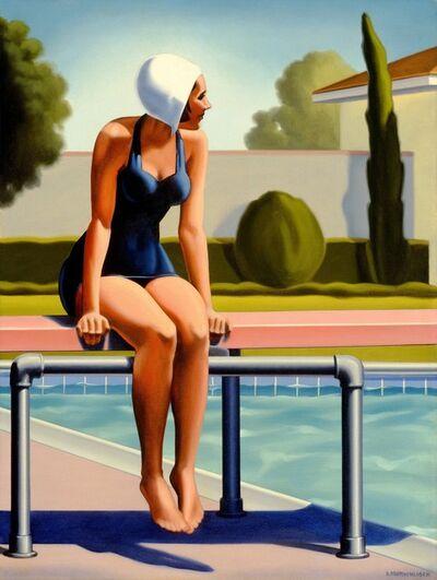 R. Kenton Nelson, 'Swim Party #1', 2015