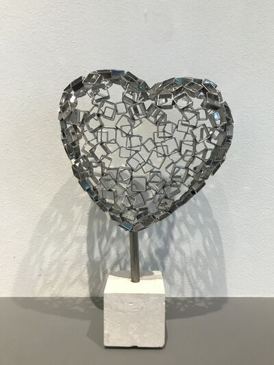 Rainer Lagemann, 'Diamond Love (silver)', 2017