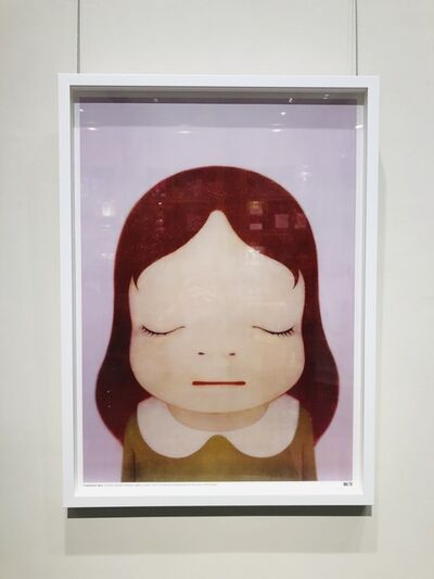 Yoshitomo Nara, 'Cosmic Girl (Eyes Shut)', 2008