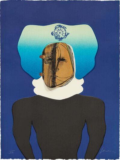 Jose Luis Cuevas, 'La Máscara (The Mask), plate 2 from Homage to Quevedo', 1969
