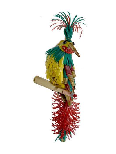 Federico Uribe, 'Red, Green, and Yellow Bird II', 2019