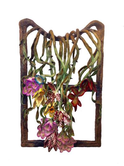 Valerie Hegarty, 'Vanitas with Roses Elegy', 2019