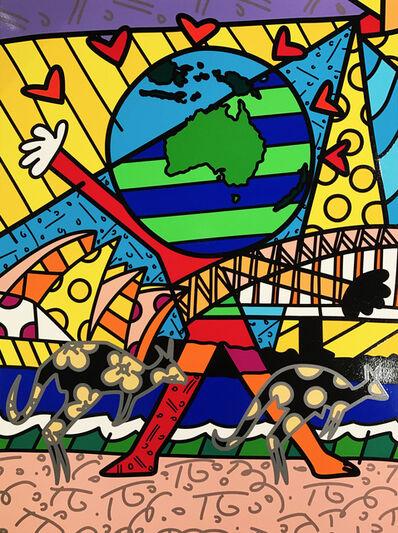 Romero Britto, 'Australia', 2015