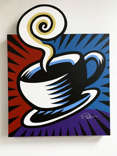 Burton Morris, 'Coffee Break - Blue', 2019