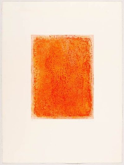 Gotthard Graubner, 'Untitled', 2003