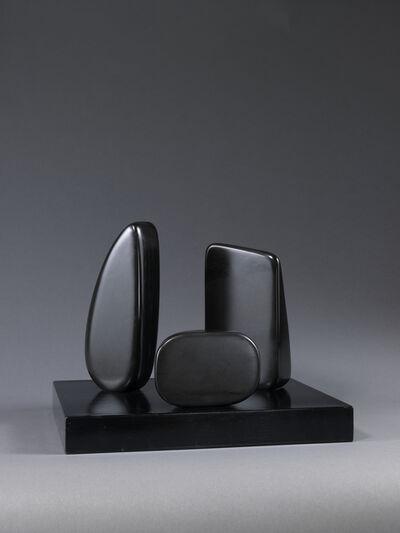 Barbara Hepworth, 'Three Forms (Zennor Carn)', 1965