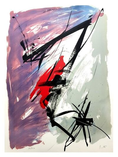 "Jean Miotte, 'Original Lithograph ""Abstract Composition"" by Jean Miotte'"