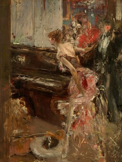 Giovanni Boldini, 'Recital', ca. 1884