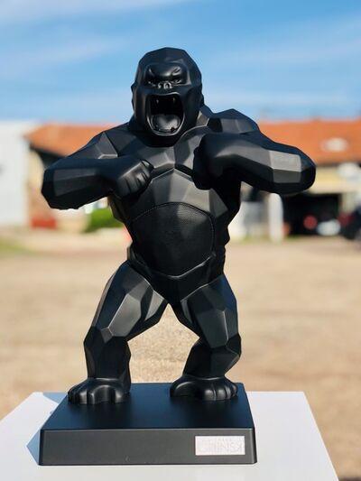 Richard Orlinski, 'Kiwikong matte black by Richard Orlinski + Kong Escape black ', 2020