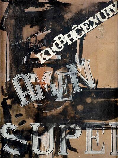 Gianni Bertini, 'Super Leda', 1963