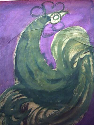 """Jesus """"Chucho"""" Reyes Ferreira, 'Emerald Rooster', ca. 1970"""