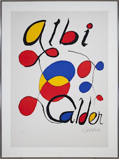 Alexander Calder, 'Albi Calder', 1969