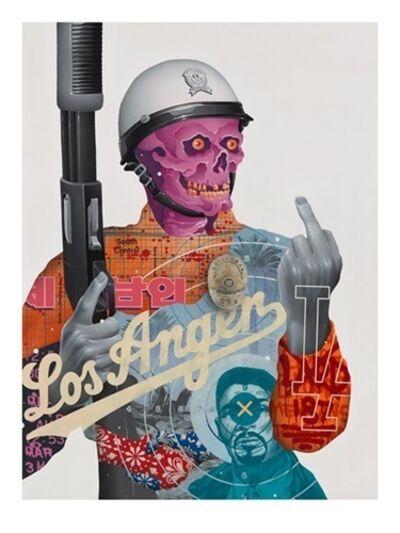 Tristan Eaton, 'LOS ANGER', 2017