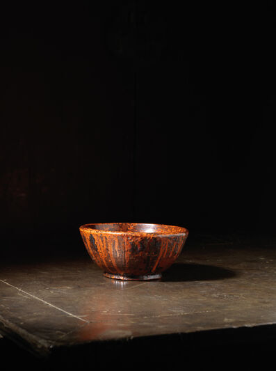 Unknown Japanese, 'A small crafted lacquer reservoir bowl, tsukuri kanshitsu bachi', Japan: 20th century