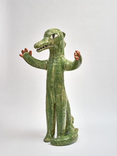 Clémentine de Chabaneix, 'Standing crocodile', 2020