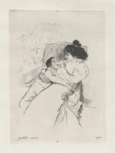 Louis Legrand, 'Petite mère', 1900