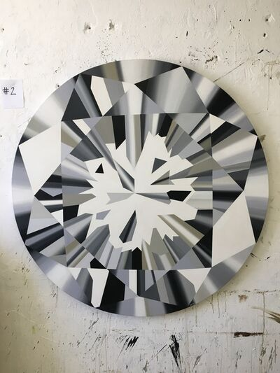 "Kurt Pio, '""Clear Round Diamond_XL""', 2019"