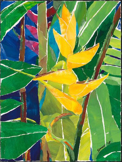 Mary Spears, 'Yellow Haliconia', 2018