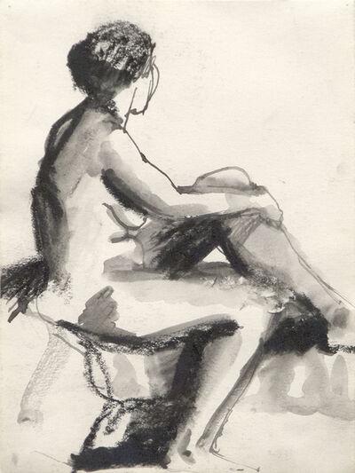 Elmer Bischoff, 'Seated Nude', c. 1950's