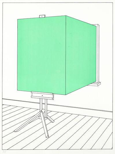 Patrick Hughes, 'Leaf Art', 1974