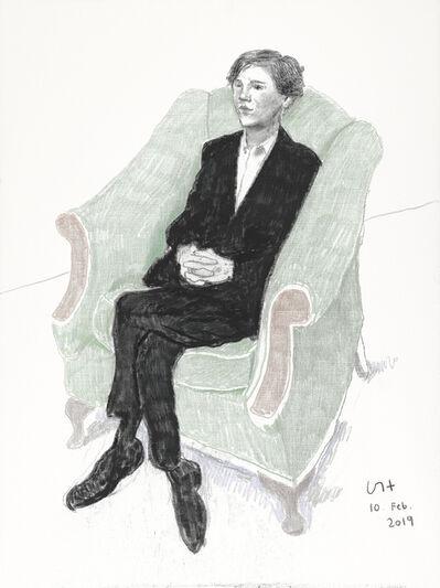 David Hockney, 'Rufus Hale', 2019